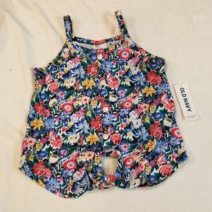 Toddler girls tank